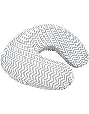 Cojín/almohada de lactancia para amamantar (incluye cojín + funda lavable) - Doble Vista (tela verano e invierno)