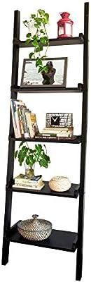 ES FRG32-SCH SoBuy/® Estanterias librerias,Estanterias de dise/ño,Estanter/ía de Pared,Negro,3 estantes