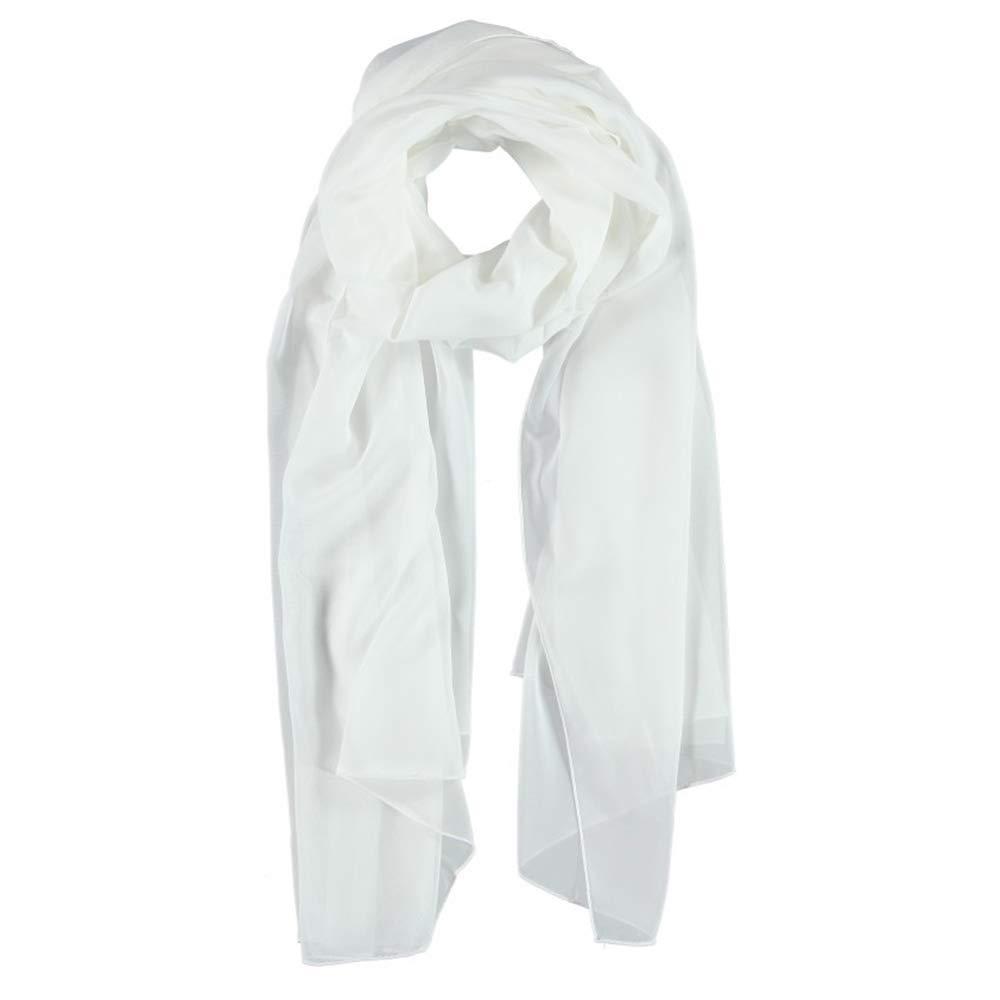 7fd0a639a33 Foulard dŽEte Chiffon Passigatti foulard pour femme echarpe (taille unique  - blanc)  Amazon.fr  Vêtements et accessoires