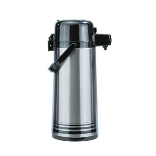 Update Airpot (Update International (PSVL-30-BK/SF) 3.0 L Stainless Steel Push-Button Air Pot)
