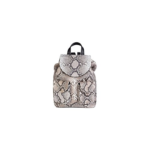 feeb480bf607 Stefano Laviano – Genuine Handmade Python Skin Leather Pattern Backpack For  Men And Women