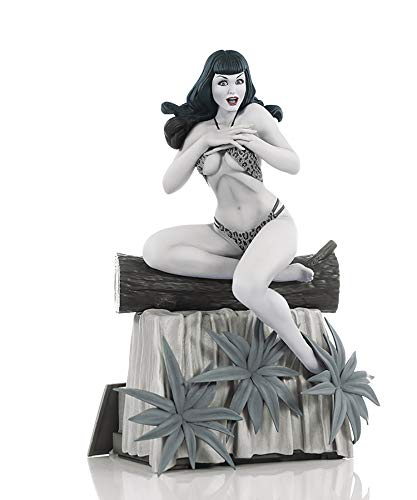 Dynamite Bettie Page by Terry Dodson Black & White Edition Resin Statue