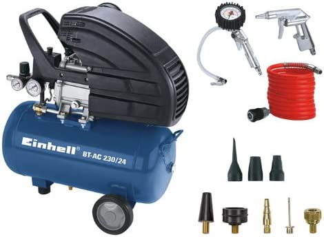 Einhell BT-AC 230/24 Kit - Compresor de aire