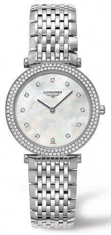Longines La Grande Classique Diamond Ladies Watch L45150876