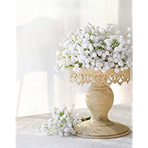 Luyue Baby Breath Artificial Plants,Fake Flowers Artificial Wedding Bouquets Floral Arrangements for Home Decor 33