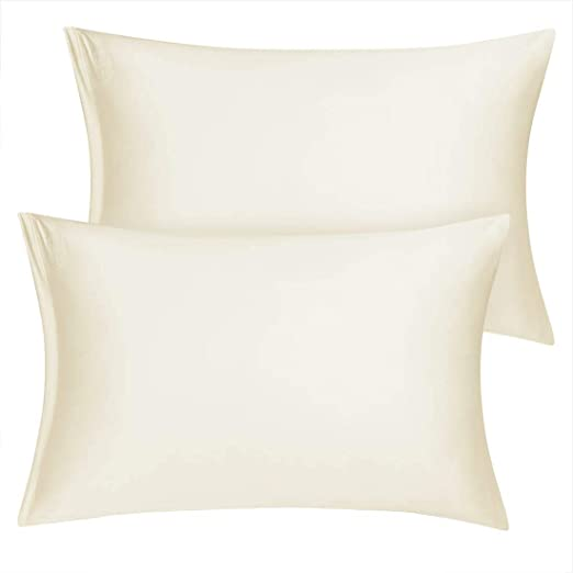 Amazon Com Uxcell King Satin Pillowcase With Zipper Super Soft