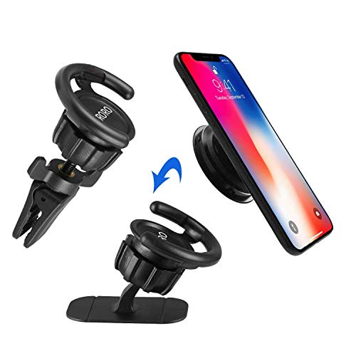 Pop Clip Car Mount for Pop User (2 pack),SCRORO Air Vent Clip Cell Phone Holder for Phone Pop and Grips, Car Dashboard Desk Wall Mount Sticker for Mobile Phone and Tablet