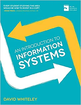 An Introduction To Information Systems PDF Descargar Gratis