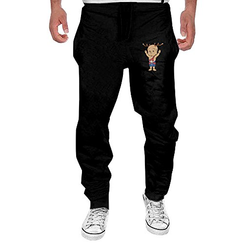 mens-japan-cute-sentokun-black-sweatpant-sport-casul-pant-xxx-large