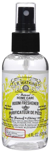 J.R. Watkins Room Spray, Lemon, 4 oz (Pack of 2) by J.R. Watkins