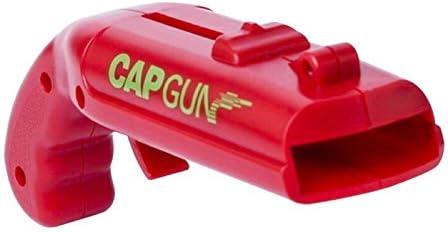 XXMK - Tornillo de corcho Pistola portátil en forma de abrelatas Easy Abrey Creative Flying Bottle Cap Can Jar Barra de cerveza Sacacorchos Cocina Herramientas Kichen Accesorios Sacacorchos multifunci