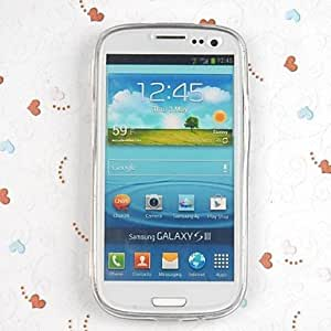 SOL Concise Color Flip Case Cover TPU Soft Skin Back for Samsung Galaxy S3 i9300