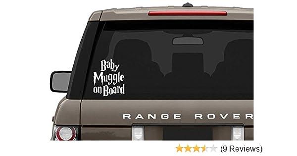 "Foot Print /""Baby on Board/"" Car Window Van Jeep SUV Bumper Vinyl Decal Sticker"