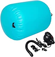Syellowafter Air Roller, Yoga Fitness Equipment, Inflatable Gymnastics Balance Training Air Roller, Cylinder C