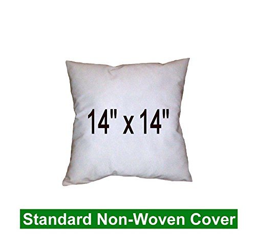 Pillow Inserts 14 x 14 Square -100% polyester fibre filled Hometex