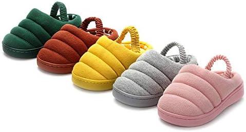 Toddler Girls Boys Warm Caterpillar Cotton Slippers Winter Bedroom Indoor House Slipper Toddler//Little Kid