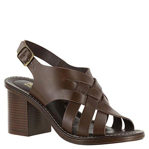 Bella Vita Kvinnor Max-italy Slingback Sandal Mörkbrunt Läder