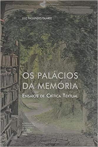 Os Palácios da Memória: Ensaios de Crítica Textual