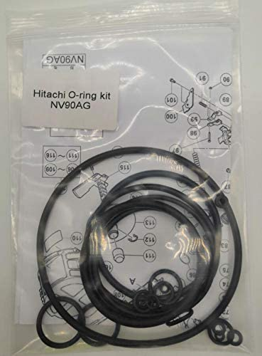 "O-RING REBUILD KIT FOR HITACHI NV83A NV83A2 NV83A3 NV83A4 3-1//4/"" FULL HEAD"