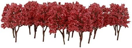 chiwanji 木 樹木模型 1/150 モデルツリー 鉄道模型 マイクロ風景 ジオラマ ドールハウス 情景コレクション 約2