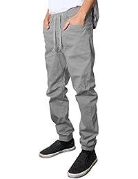 NEW Colors Mens Twill Jogger Pants