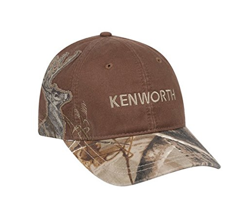 Camo Wildlife Series (BD&A Kenworth Motors Trucks Dri-Duck Wildlife Series Buck Deer Brown Camo Hunting Cap)