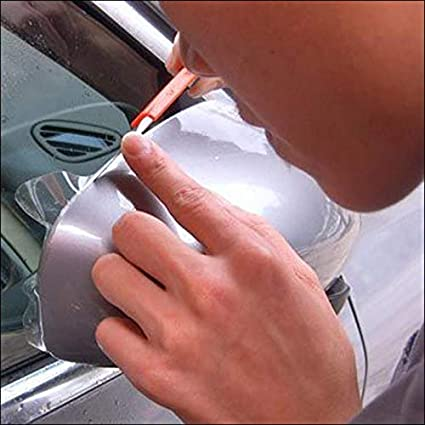 Helpful Invisible Car Door Sill Edge Paint Protection Scratch Film Sheet Sticker