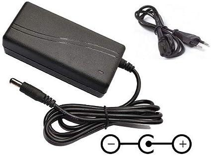 CARGADOR ESP ® Cargador Corriente 24V Compatible con Reemplazo Television Televisor TV LED LG 22LE3320 22LE3320-ZA Recambio Replacement