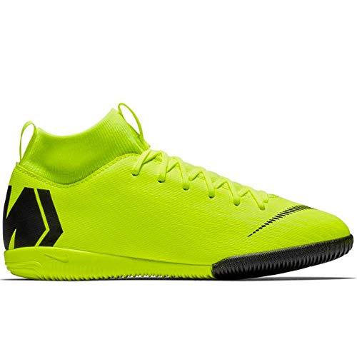 Nike Jr. MercurialX Superfly VI Academy Indoor Soccer Shoe (4.5 US Big Kid) (Best Street Soccer Shoes)