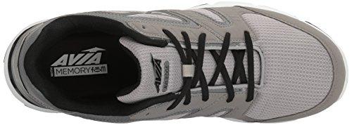 Shoe Grey Men's Avia Avi Steel Frost Trainer Grey Cross Black Edge wgwXqxz7a