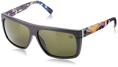 Electric Black Top Square Sunglasses