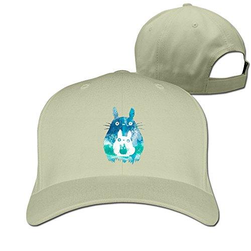 My Neighbor Totoro Anime Cute Flat Cap Strapback Hat Best Custom Snapback