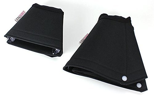 Lenskirt XL- Larger Anti-Reflection Portable, Flexible, Cuts Glare from Camera Lens