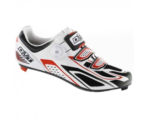 2015 DMT Mens Hydra Shoes White Red Black UK 9.5 / US 10.5 / EU 44.5 SPD SL