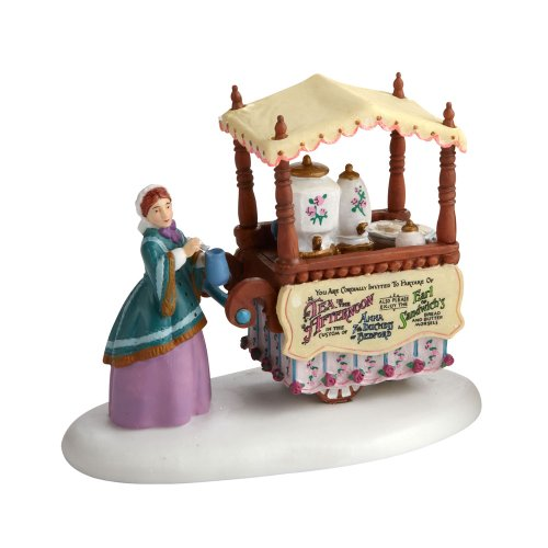 Department 56 Dickens' Village Chelsea Market Tea Monger Accessory Figurine
