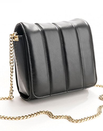 Negro Bolsos Oro Connection Bandolera nero Lucido French Mujer Mini Crossbody Riley Ix1qww0AS