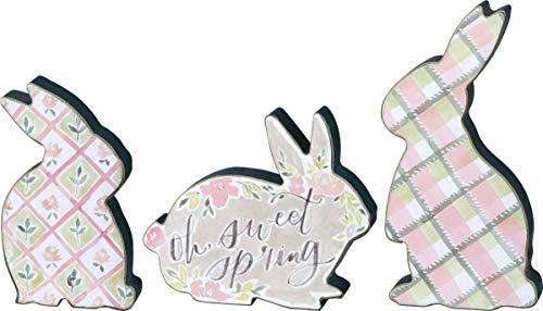 Primitive Spring - Primitives by Kathy Spring Bunnies Chunky Sitter Set