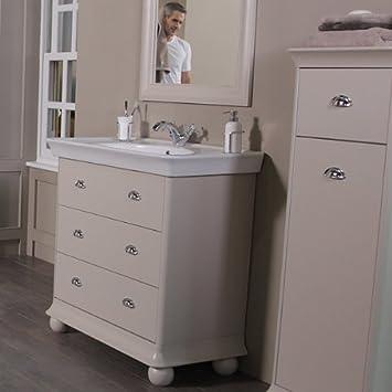 Gut gemocht 900 Waschkommode mit Waschbecken für Badezimmer En - Luxus OL13