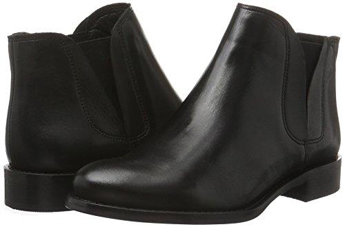 Con Donna Nero 26 Bassi V Imbottitura Bianco 48224 Leggera split 10 Stivali Boot black q0wAPnv