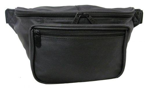 amerileather-jumbo-size-leather-fanny-pack-black