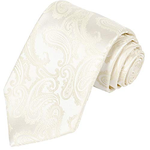 KissTies Mens Stone Color Paisley Necktie Wedding Ties + Gift Box