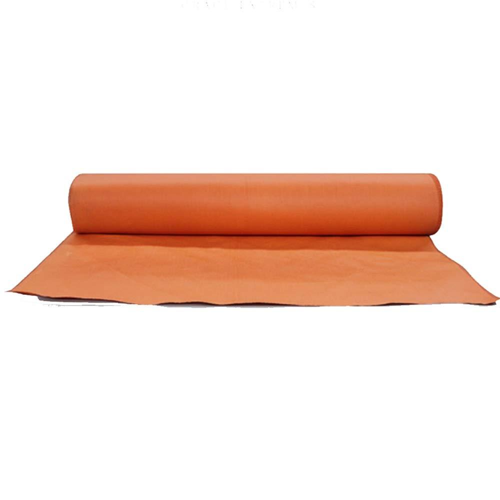 Tarpaulin NAN Camping Plane - 520g / m2 Wasserdichtes Heavy Duty Plane Markise Groundsheet Zelt HochtemperaturBesteändiges feuerfestes Tuch mit DREI Proofs (Farbe : Orange, größe : 30x1m)