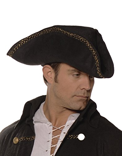 [Pirate Hat- Black] (Diy Jack Sparrow Costume)
