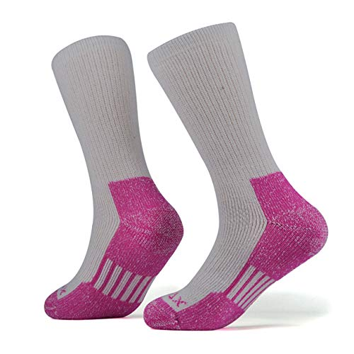 - SOLAX Women's Merino Wool Hiking Socks 2 Pairs Outdoor Trail Crew Socks