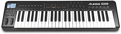 Alesis QX49 - Teclado MIDI (USB, 81,3 cm, 22,9 cm, 7,6 cm, DC, 4,5W) Negro