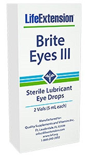Life Extension Brite Eyes Iii Vials (5 Ml Each), 2-Count by Brite Eyes III