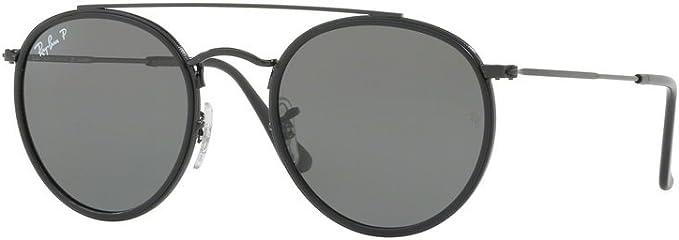 Amazon.com: Ray-Ban RB3647N - Gafas de sol redondas con ...
