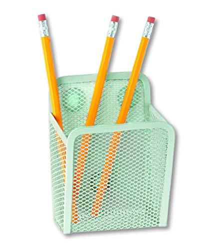 Family Mint - Jennakate- Magnetic Pen Holder - Liquid Chalk Holder- Family Command Center - Magnetic Message Board - Mint Green