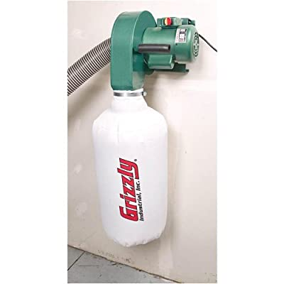 Grizzly G0710 1 HP Wall Hanging Dust Collector by Grizzly