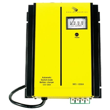 Automatic Switch Mode 15-Amp Battery Charger 15 Amp 3 Bank